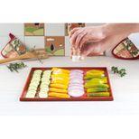 Tapis de cuisson rectangulaire à rebord en silicone pour génoise 42 x 35 cm - Alice Délice