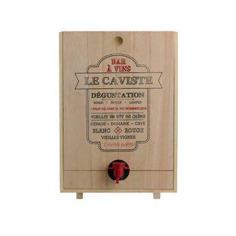 Achat en ligne Distributeur de vin en bois 5L - Cook Concept