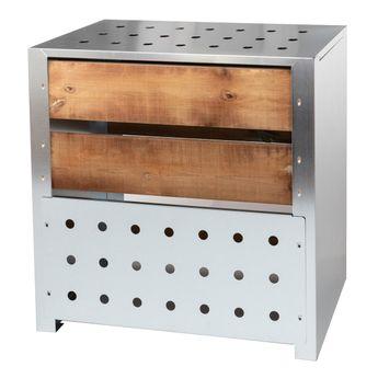 Achat en ligne Composteur de jardin 200L bois acier galvanisé - Guillouard