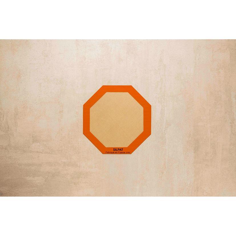 Toile de cuisson octogonale spéciale micro-ondes 26 x 26 cm - Silpat