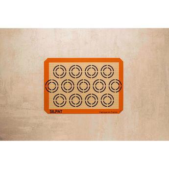 Achat en ligne Toile de cuisson spéciale cookies 42 x 29,5 cm - Silpat