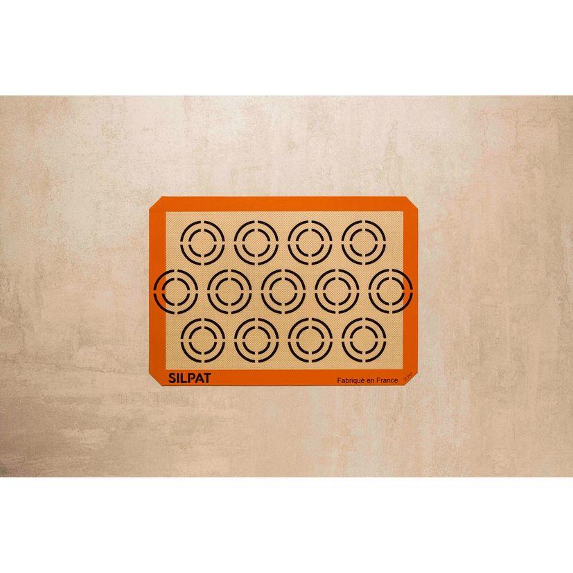 Toile de cuisson spéciale cookies 42 x 29,5 cm - Silpat