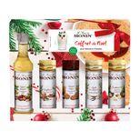 Coffret Noël 5 mignonnettes 5 x 50ml - Monin