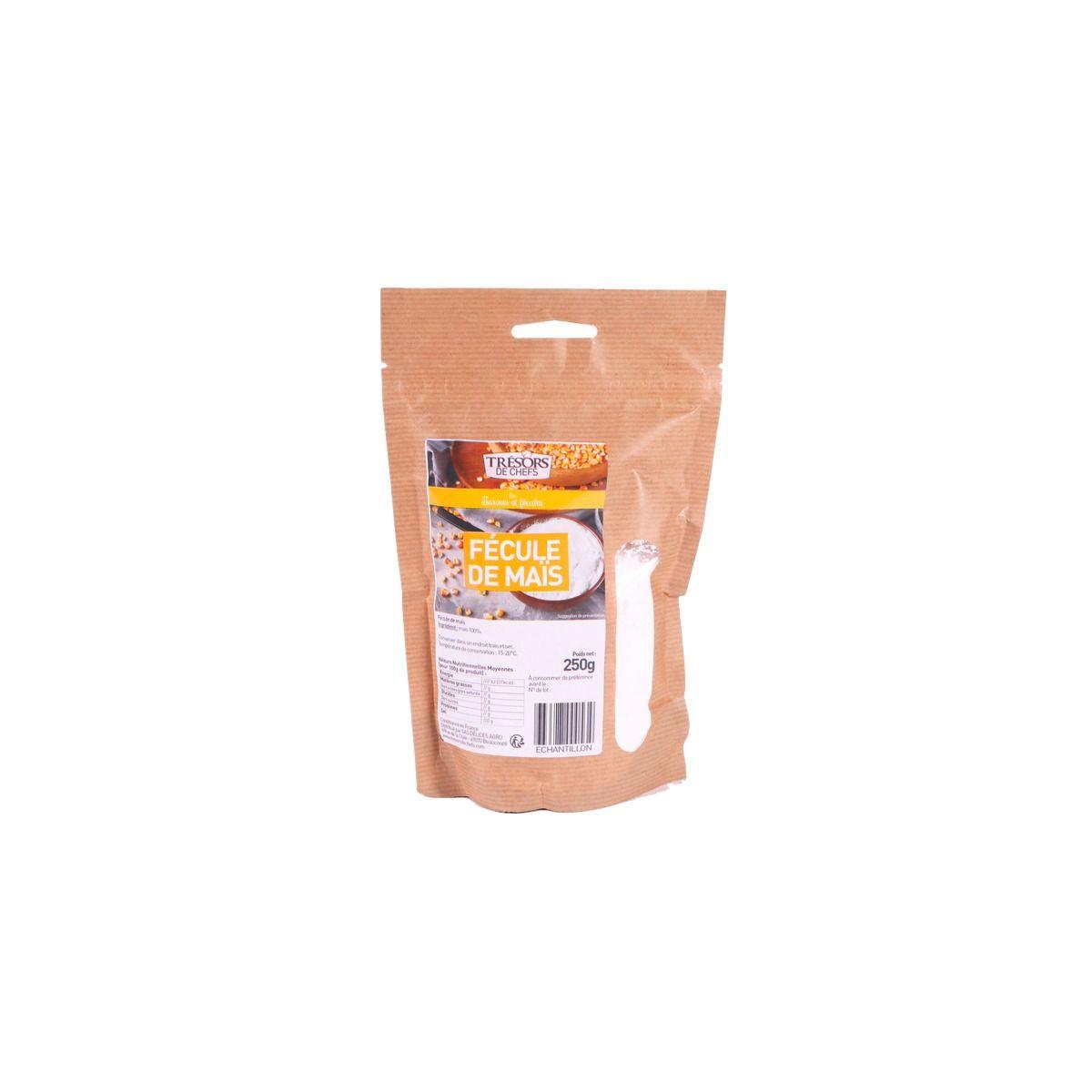 Fécule de maïs 250 gr - Trésors de Chefs