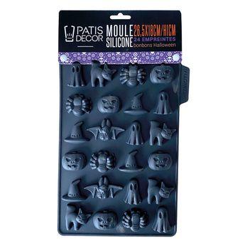 Achat en ligne Moule en silicone 24 bonbons d´Halloween - Patisdecor