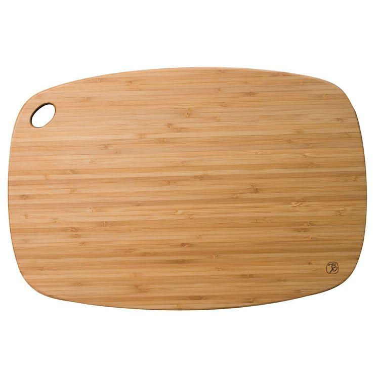 Planche à découper en bambou qui passe en lave vaisselle 34 x 23 cm - Totaly bamboo
