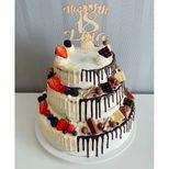 Glaçage blanc goût chocolat blanc 180 gr, idéal pour la décoration de gâteaux et le glaçage de biscuits