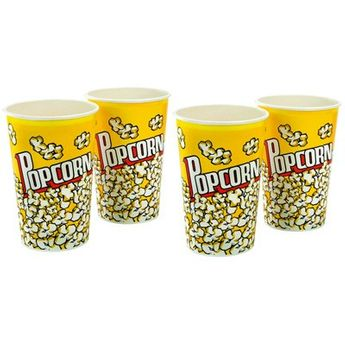 Set 4 gobelets pop-corn - Chevalier Diffusion