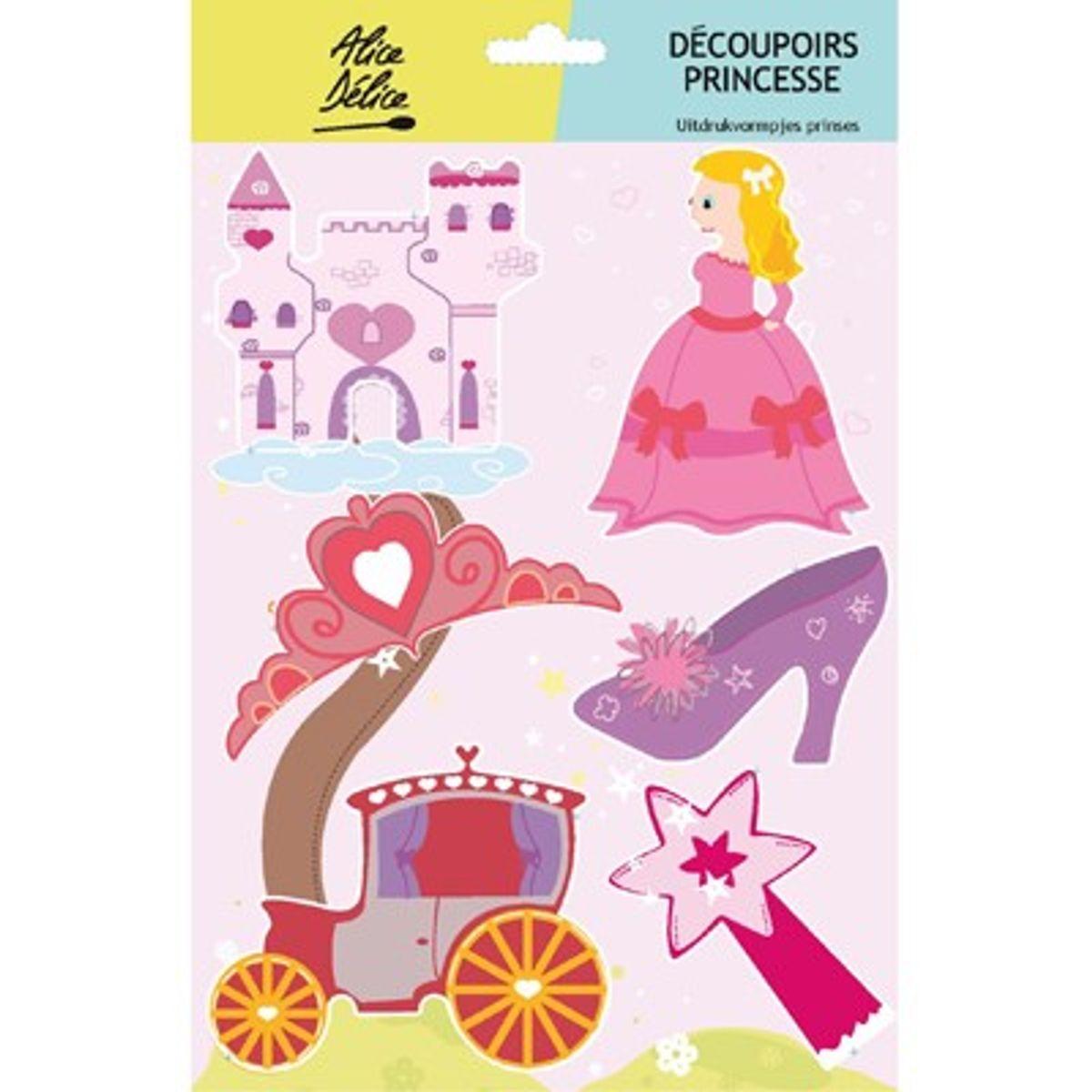 6 découpoirs inox princesse - Alice Délice