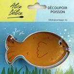 Découpoir inox poisson - Alice Délice