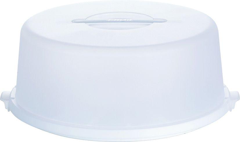 Boîte à gâteaux ronde blanche 33cm - Emsa