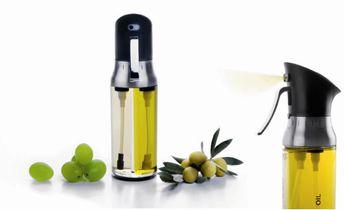Achat en ligne Double vaporisateur huile et vinaigre en plastique 200 ml - Ibili