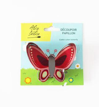 Découpoir inox papillon - Alice Délice