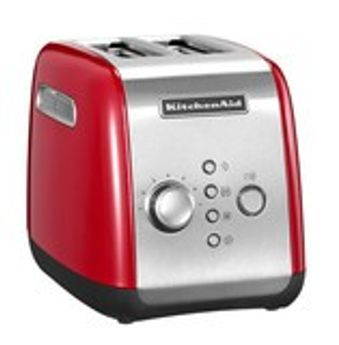 Grille-pain 2 tranches rouge empire 5kmt221eer - Kitchenaid