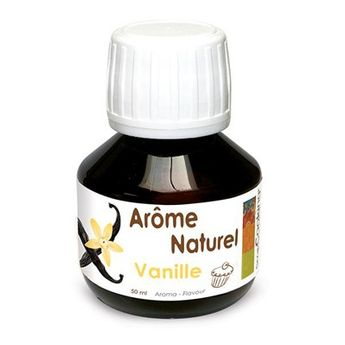 AROME NATUREL DE VANILLE 50ML - SCRAPCOOKING