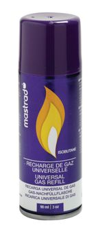 Achat en ligne Recharge gaz universelle pour chalumeaux et briquets 250 ml - Mastrad