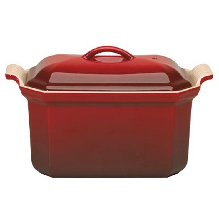 Terrine avec presse 0.6L rouge cerise - Le Creuset