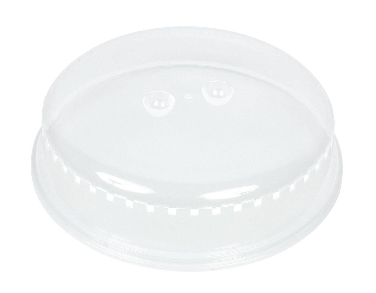 Couvercle micro-ondes anti-éclaboussure en plastique diamètre 25.5 cm - Chevalier Diffusion