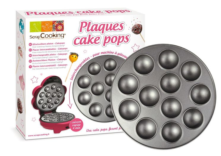 PLAQUE A POP CAKES - SCRAPCOOKING