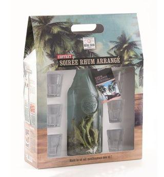 COFFRET SOIREE RHUM ARRANGE - QUAI SUD