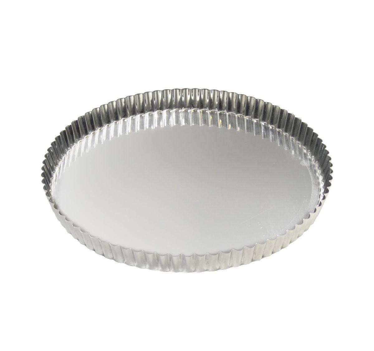 Moule à tarte fer blanc 28cm - Gobel