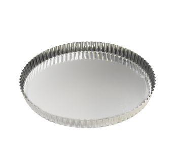 Achat en ligne Moule à tarte fer blanc 8/10 parts 28 cm - Alice Délice